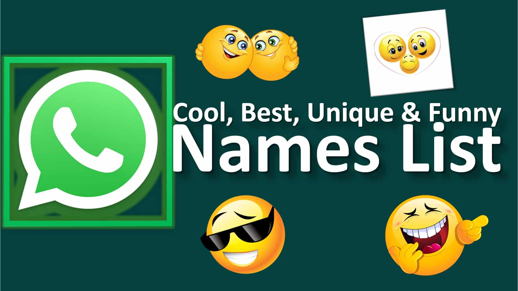 Cool Whatsapp Group Names List
