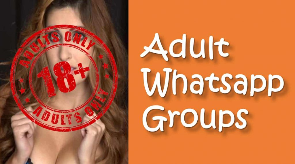 Adult Whatsapp Group Links