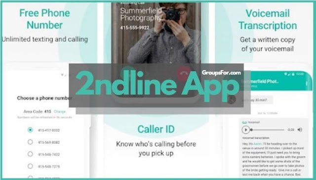 Create Fake Whatsapp Number with 2nd-line App