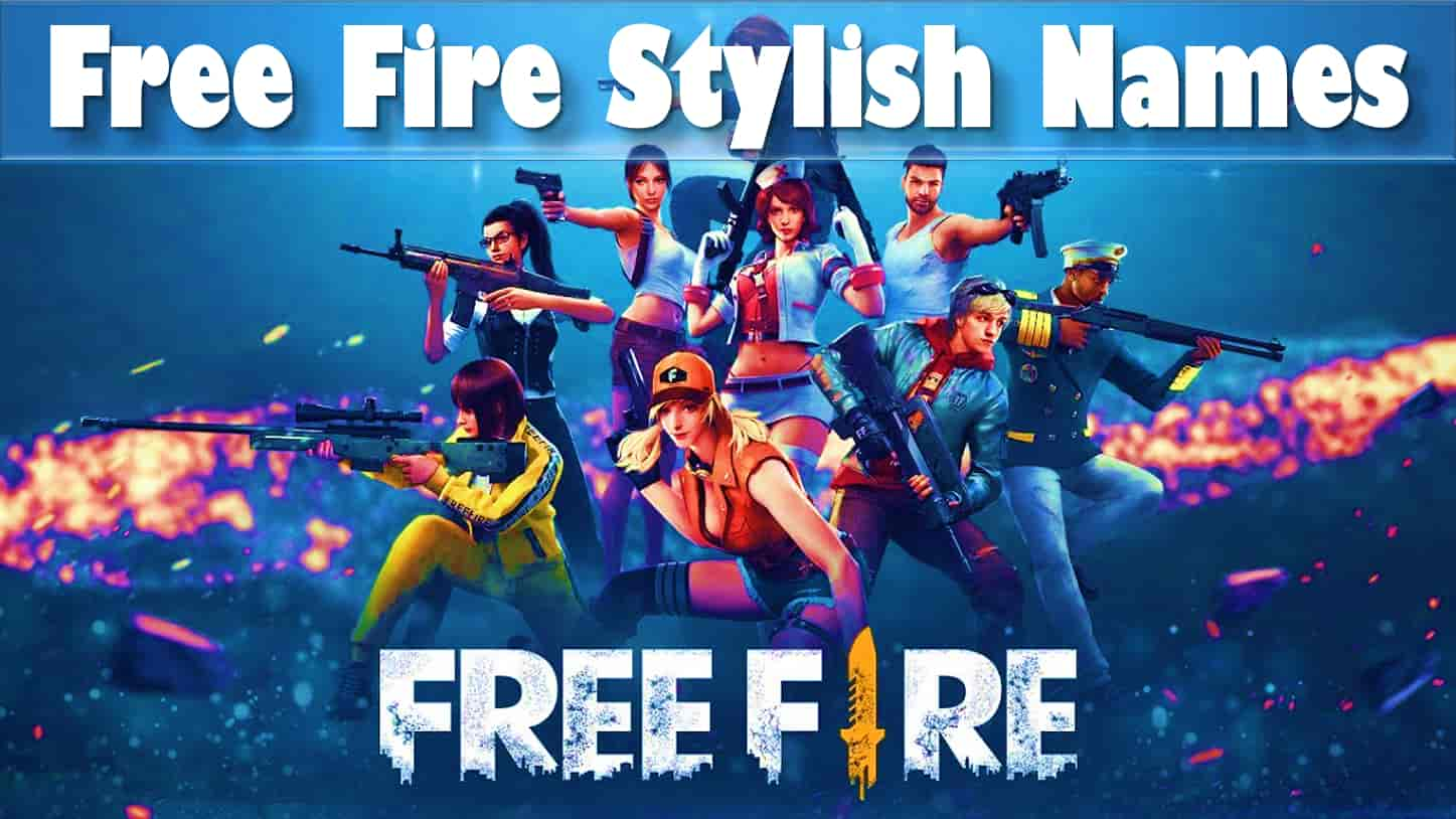 Free fire names tag with free fire squad
