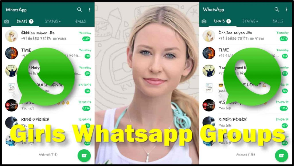 Girls Whatsapp Group Link