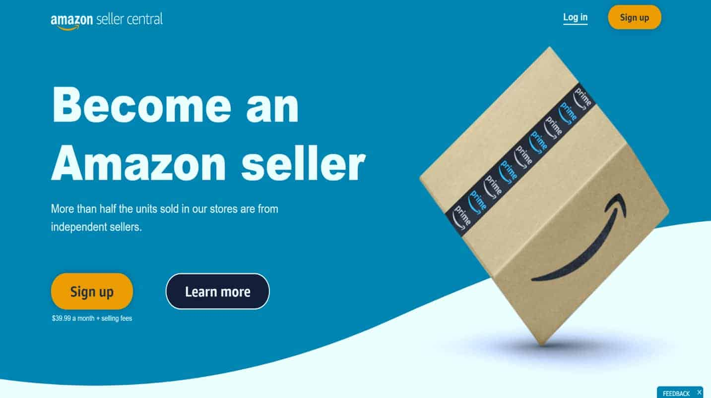 How to create amazon seller account in pakistan