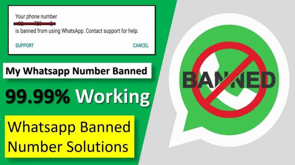 Whatsapp blocked my number