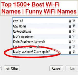 funny and clever wifi names
