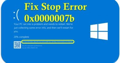 how to fix blue screen stop error code 0x0000007b