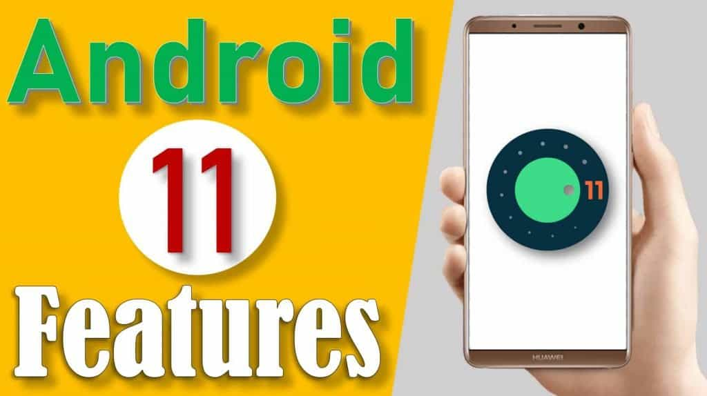 top 5 features in android 11