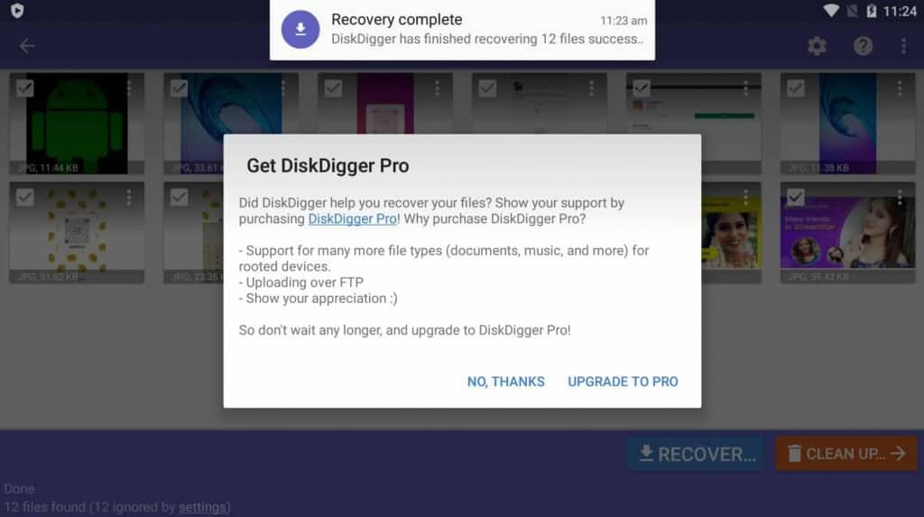 how to recover deleted photos from gallery samsung